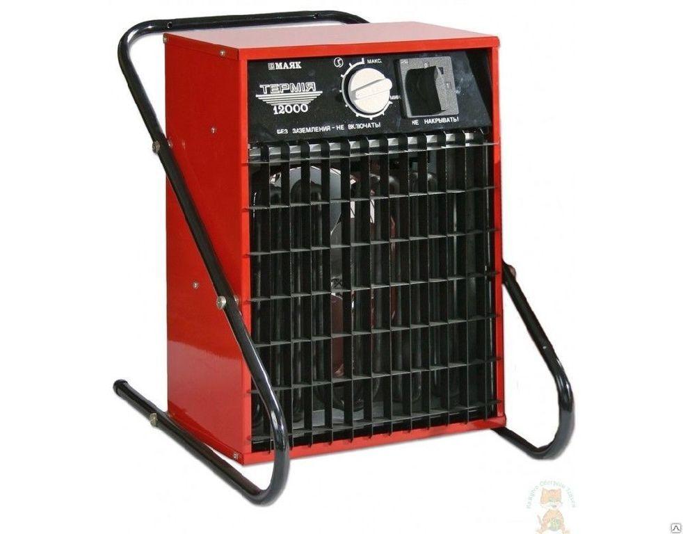 Тепловой вентилятор 9кВт